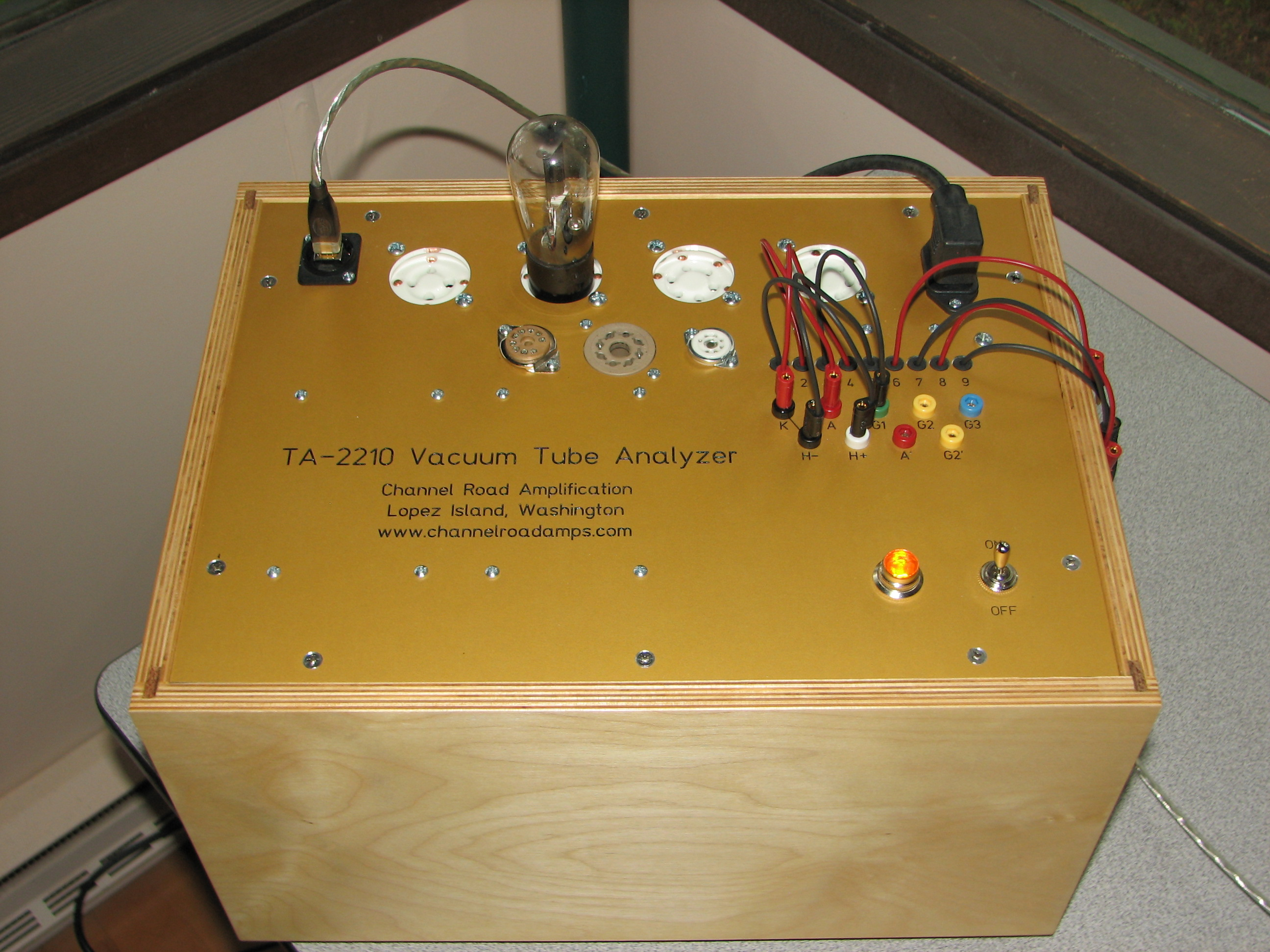 Channel Road Amplification: Vacuum Tube Analyzer, Part One